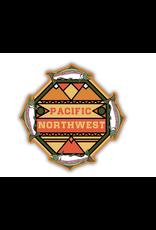 Stickers Northwest Salmon PNW Mosaic