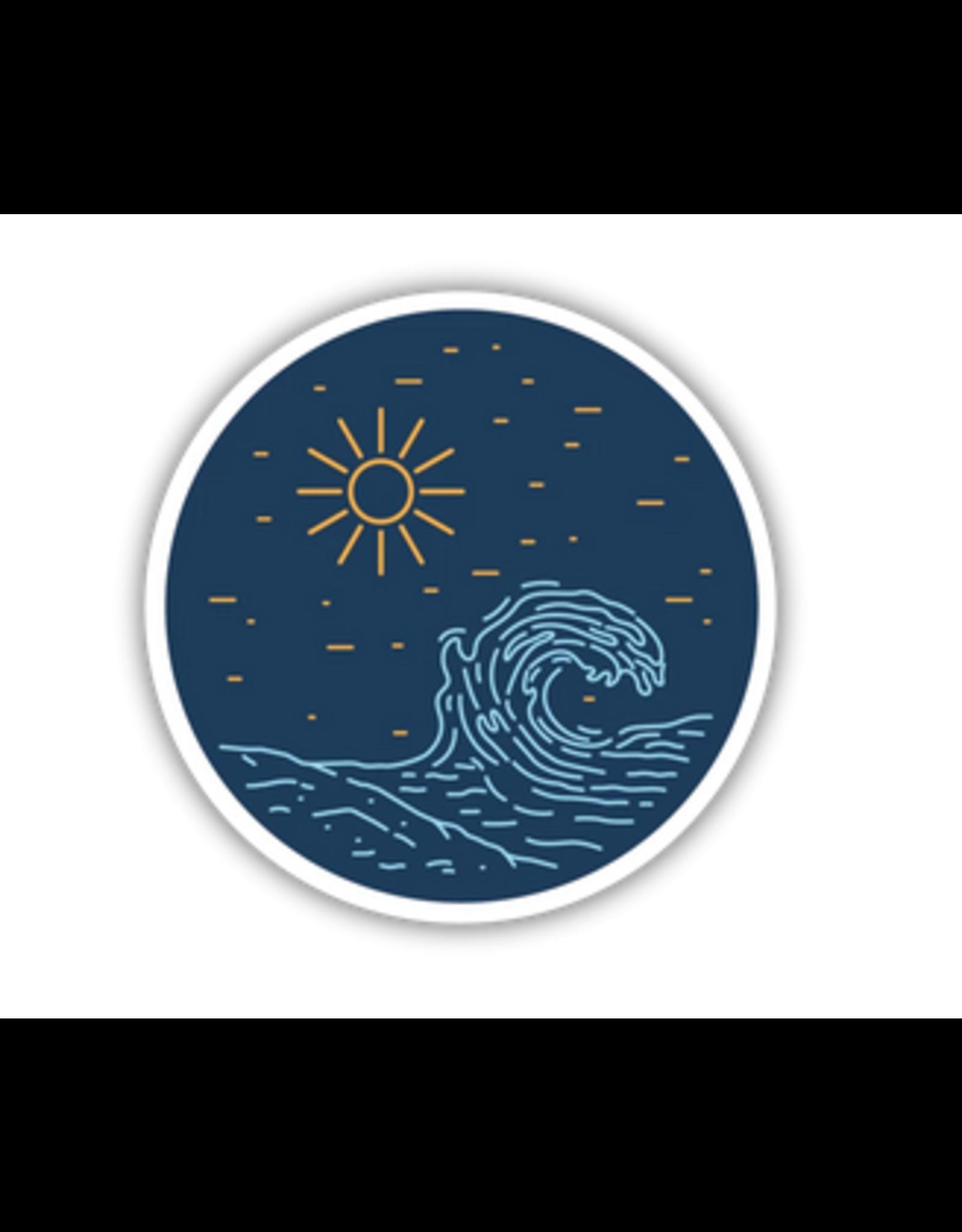 Stickers Northwest Big Wave