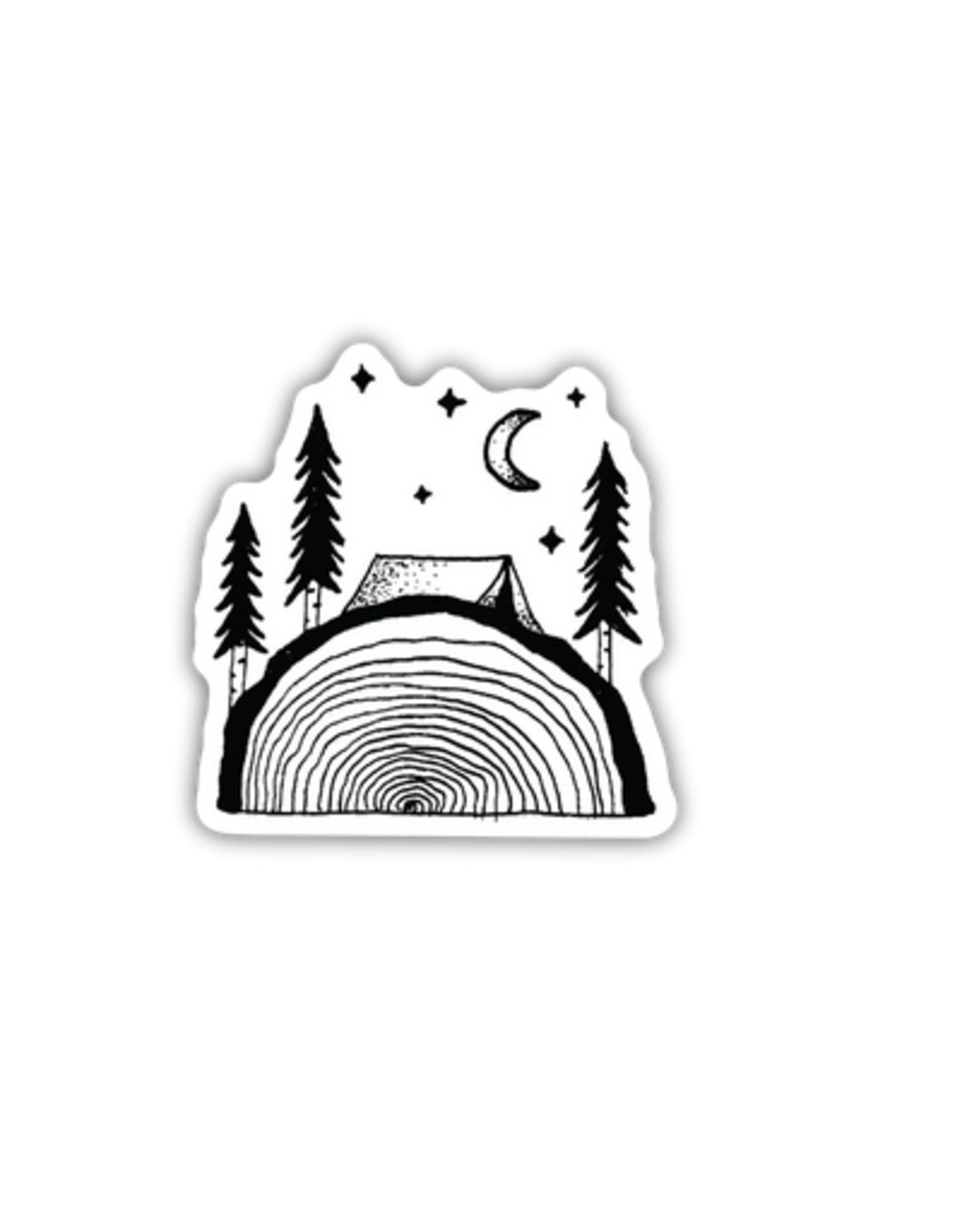 Stickers Northwest Sawing Logs