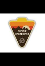 Stickers Northwest PNW Compass Badge Sticker