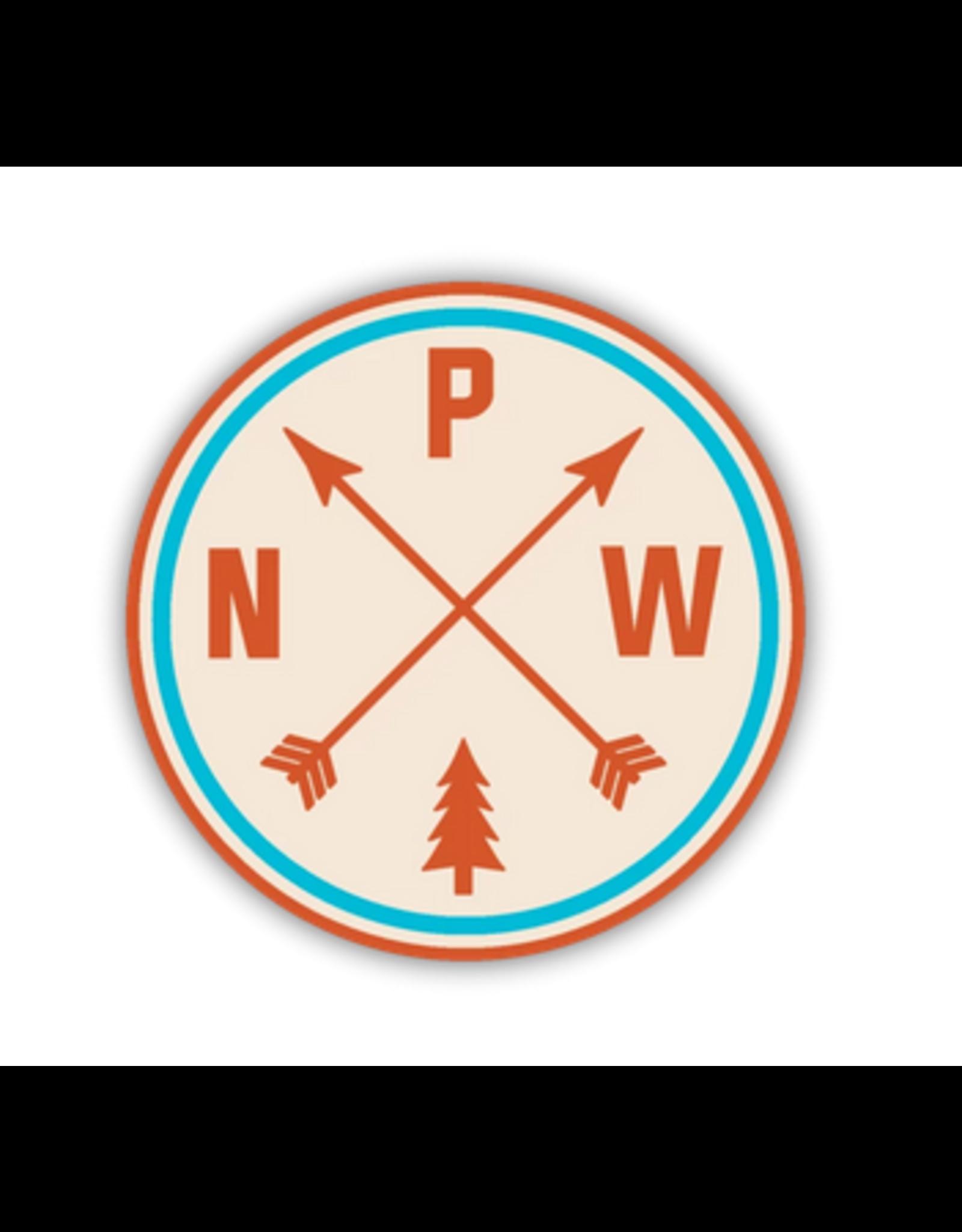Stickers Northwest PNW Arrows Sticker