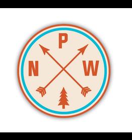 PNW Arrows Sticker