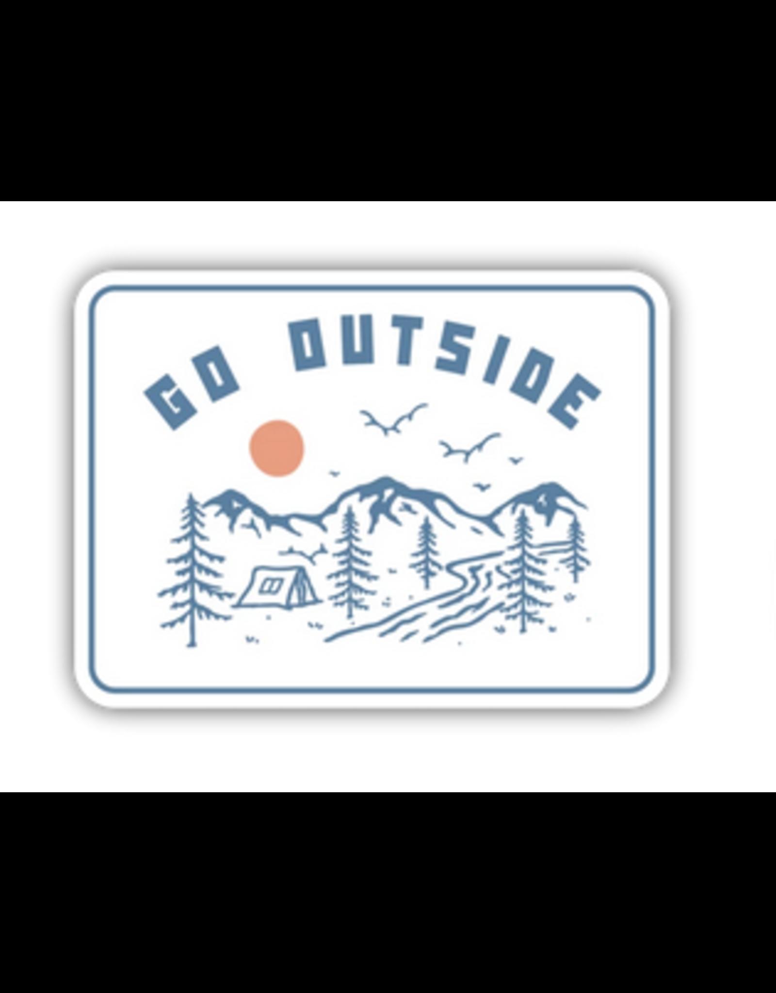 Stickers Northwest Go Outside Camp Scene Sticker