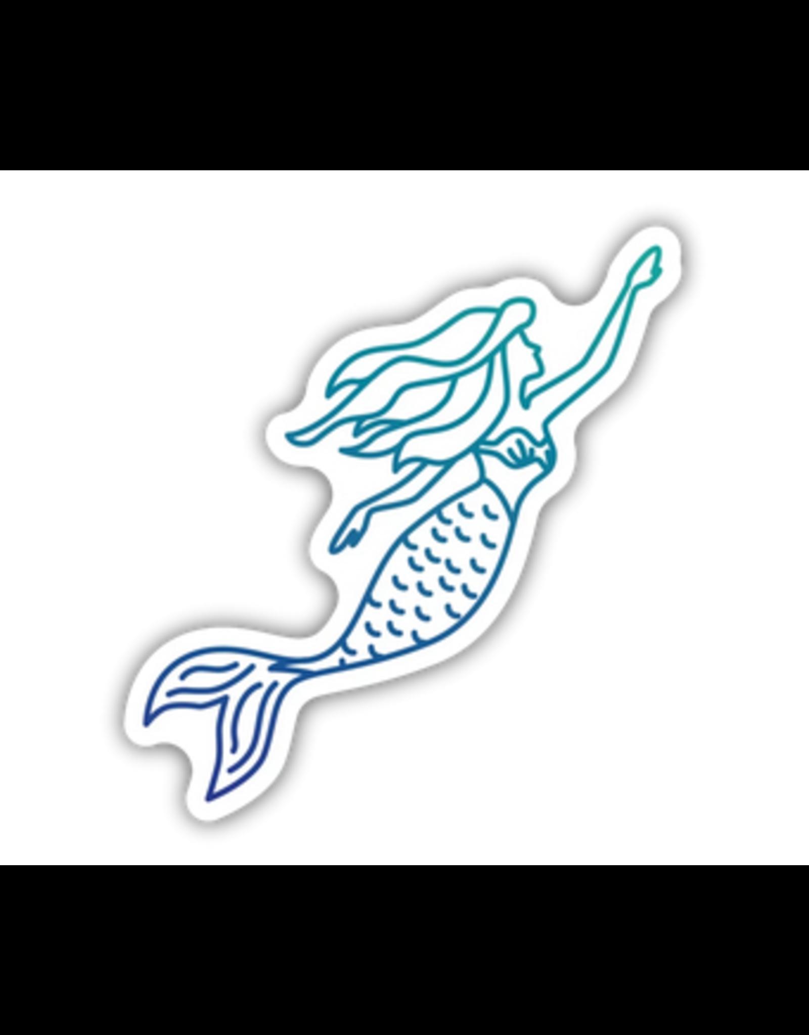 Stickers Northwest Mermaid