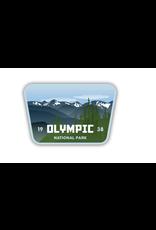 Stickers Northwest Olympic NP Sticker