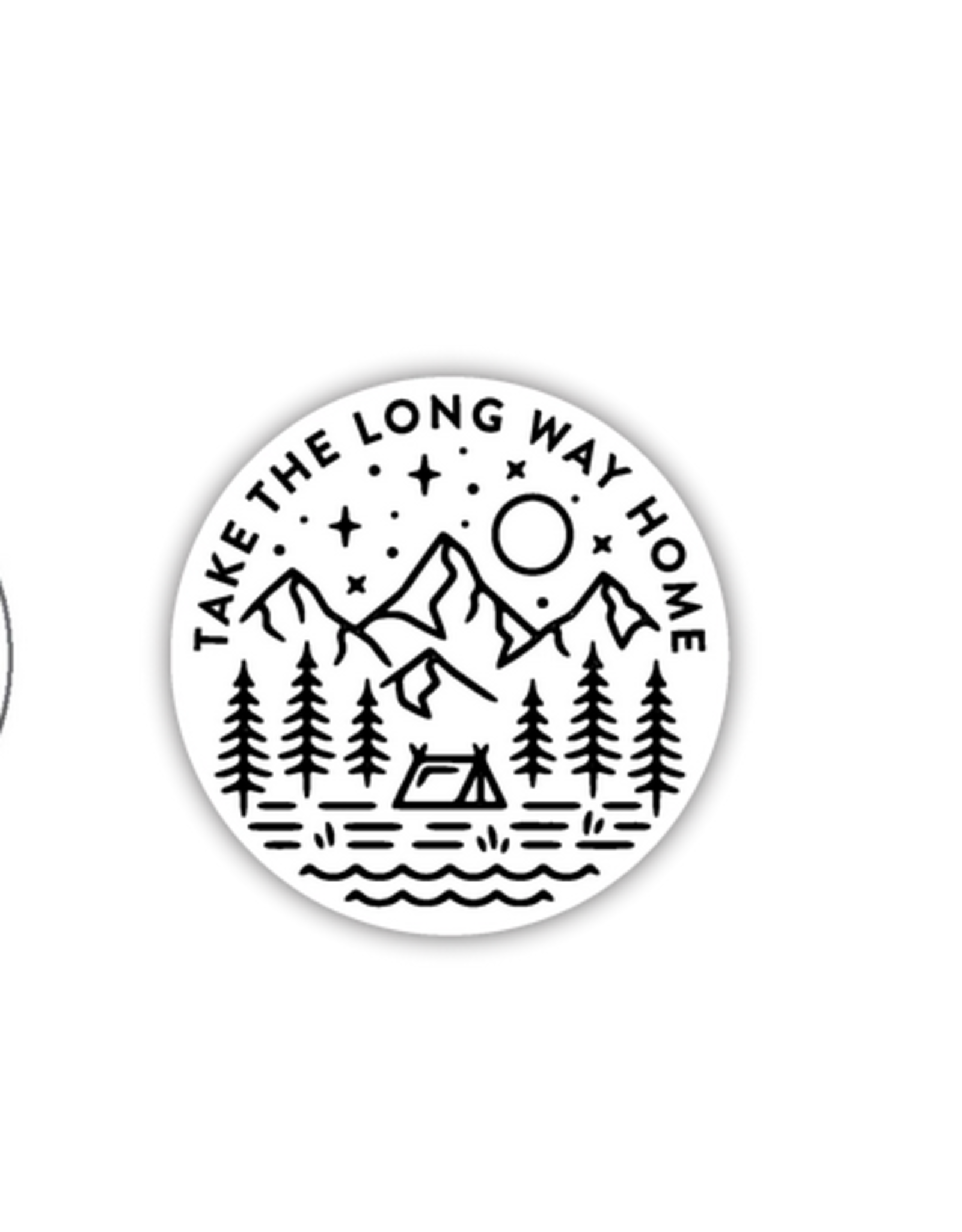 Stickers Northwest Take the Long Way Home