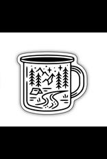 Stickers Northwest Camping Mug Scene