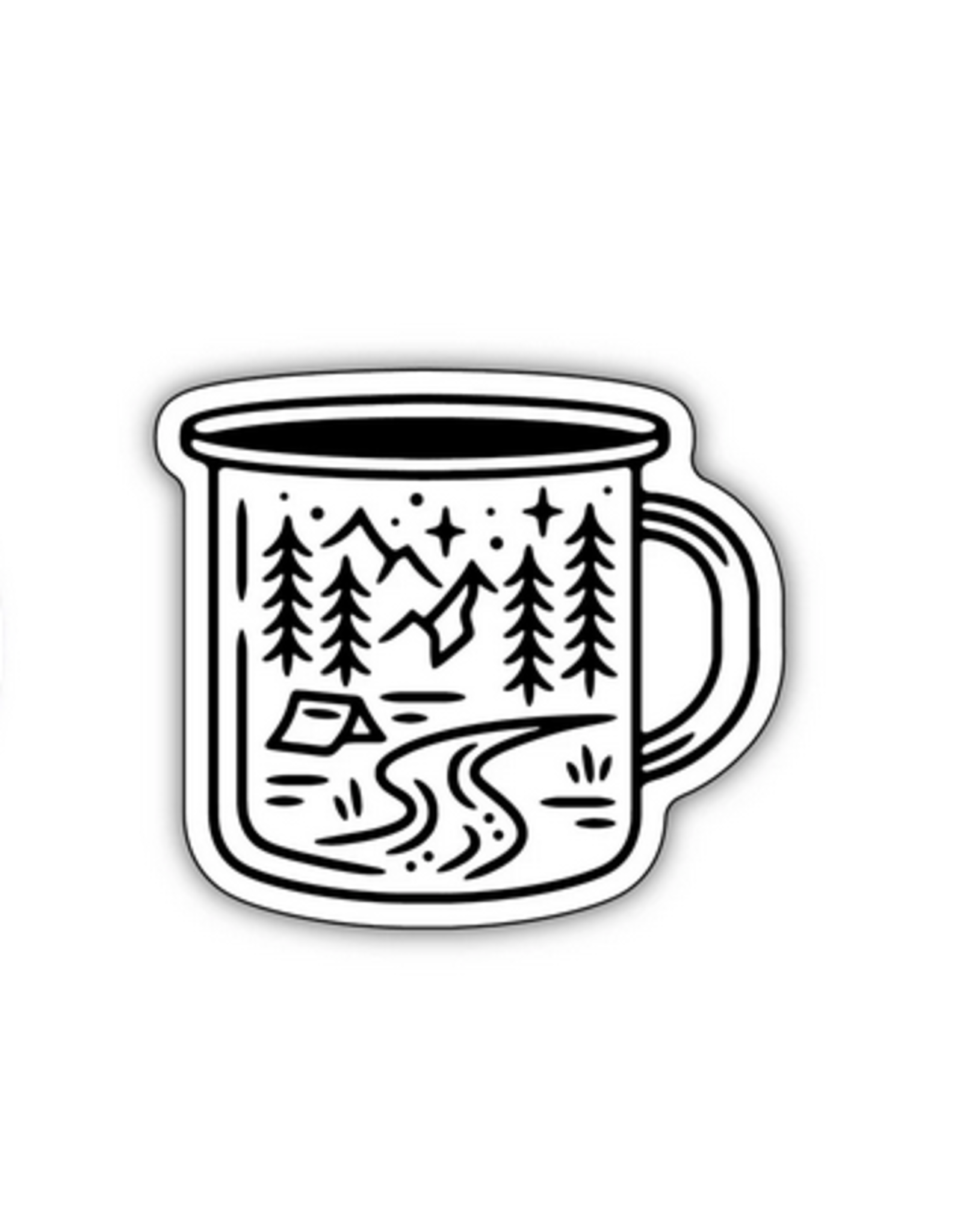 Camping Mug Scene