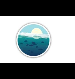 Ocean Mermaid Sticker