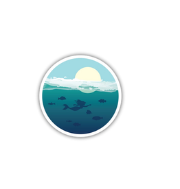 Stickers Northwest Ocean Mermaid Sticker