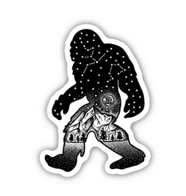 Stickers Northwest Sasquatch Constellation