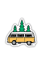 Stickers Northwest Bus and Trees
