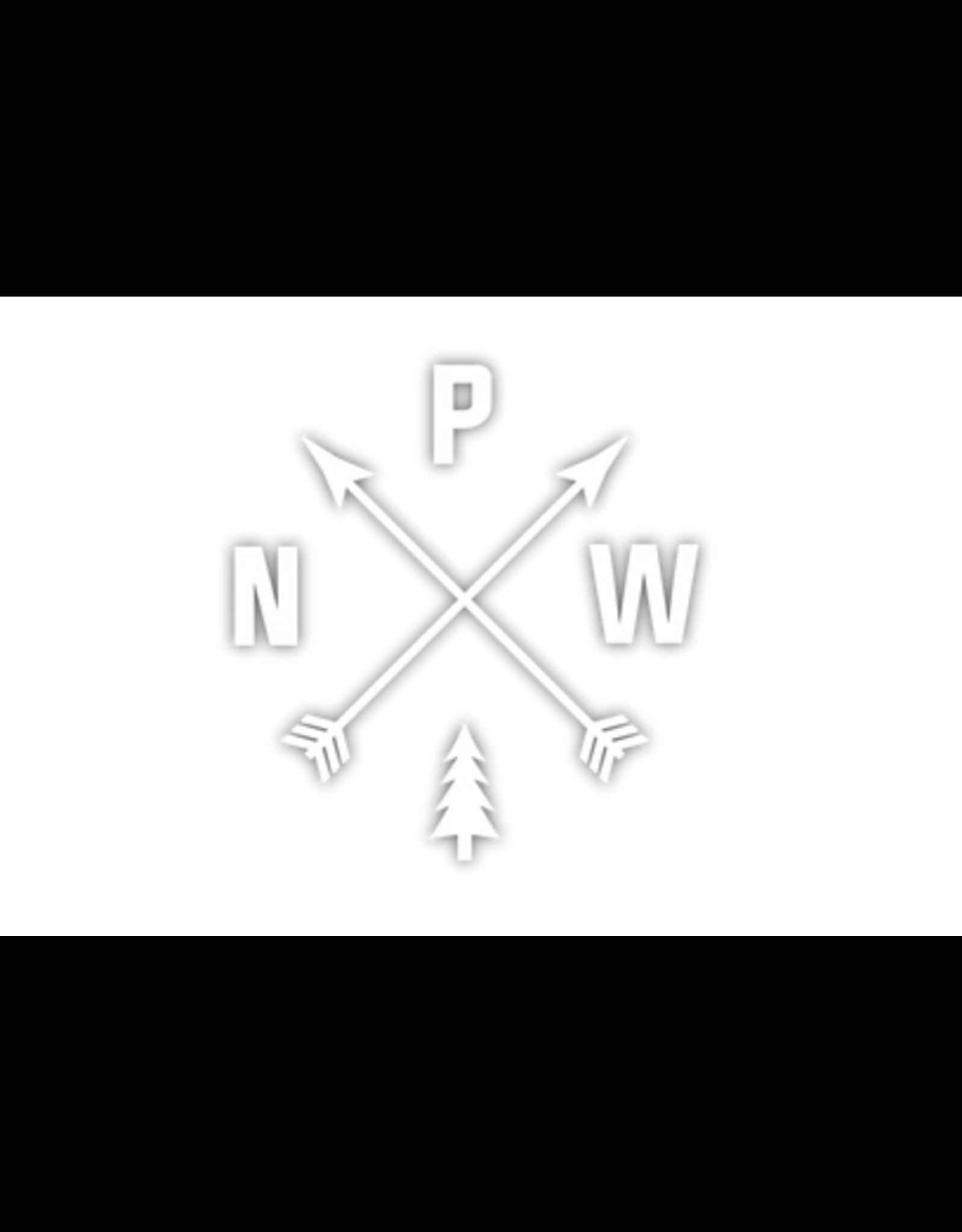 Stickers Northwest PNW Arrows Die Cut