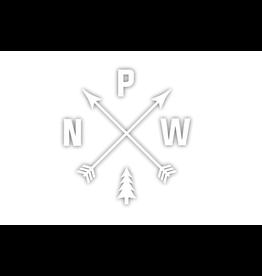PNW Arrows Die Cut Sticker