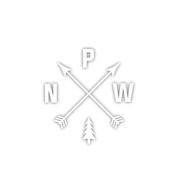 Stickers Northwest PNW Arrows Die Cut Sticker