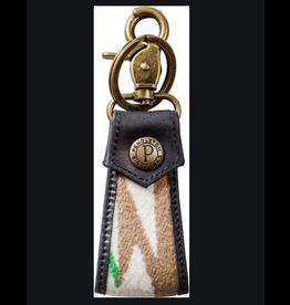 Pendleton Jacquard Keychain