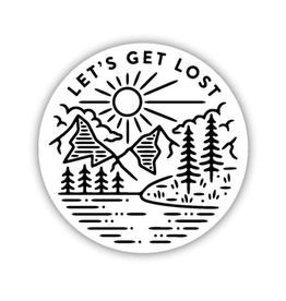 Stickers Northwest Let's Get Lost