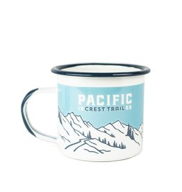 Landmark Pacific Crest Trail Enamelware Camp Mug Single