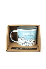 Landmark Pacific Crest Trail Enamelware Camp Mug Single