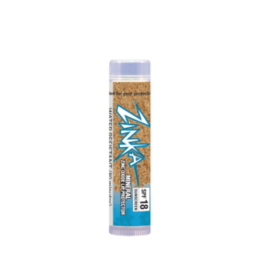 Zinka Clear Zinc Oxide SPF 18 Mineral Lip Balm