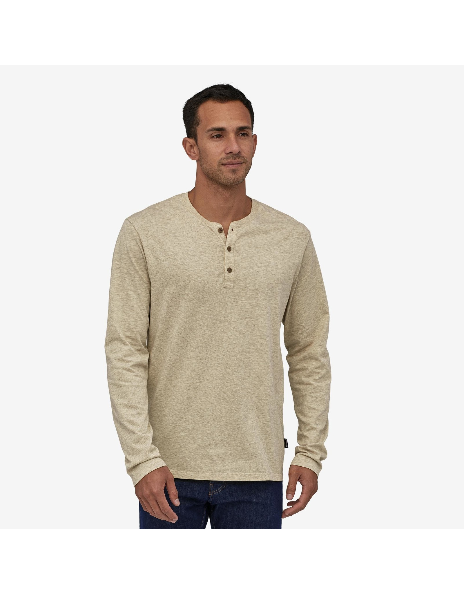 Patagonia Men's LS Organic Cotton LW Henley Pullover