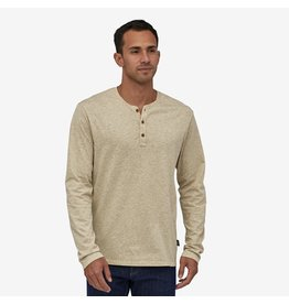 Patagonia Men's Long Sleeve Organic Cotton Henley Pullover