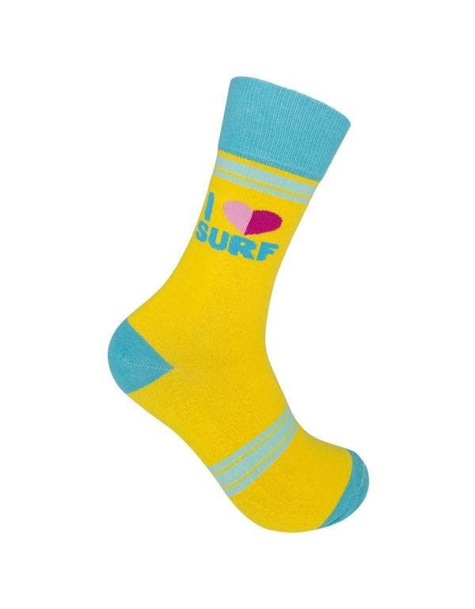 I Love Surf Socks