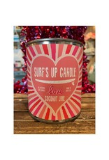 Surfs Up Candle Coconut Lime Pint - Love - Valentines Day