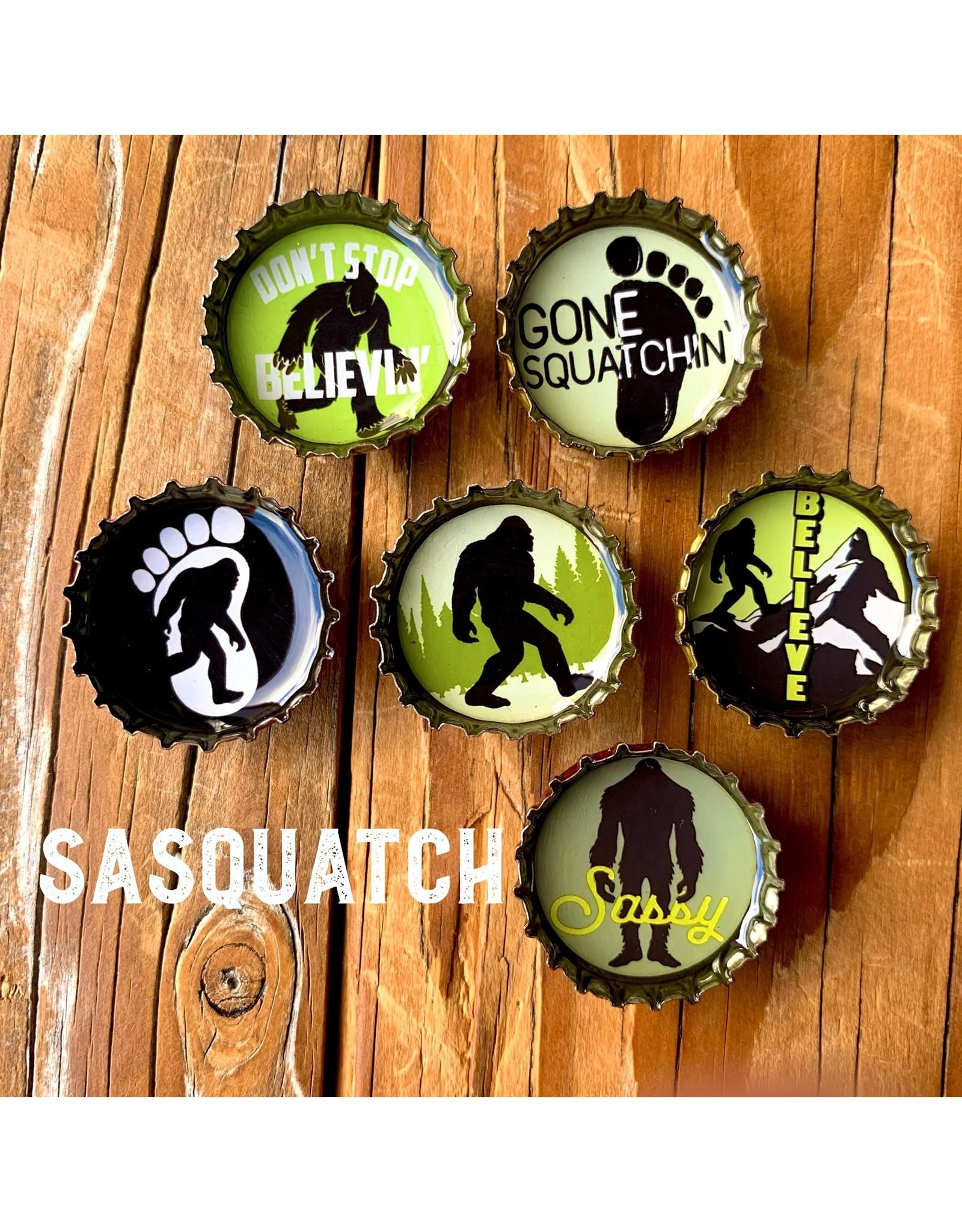 Sasquatch Magnet - Six Pack