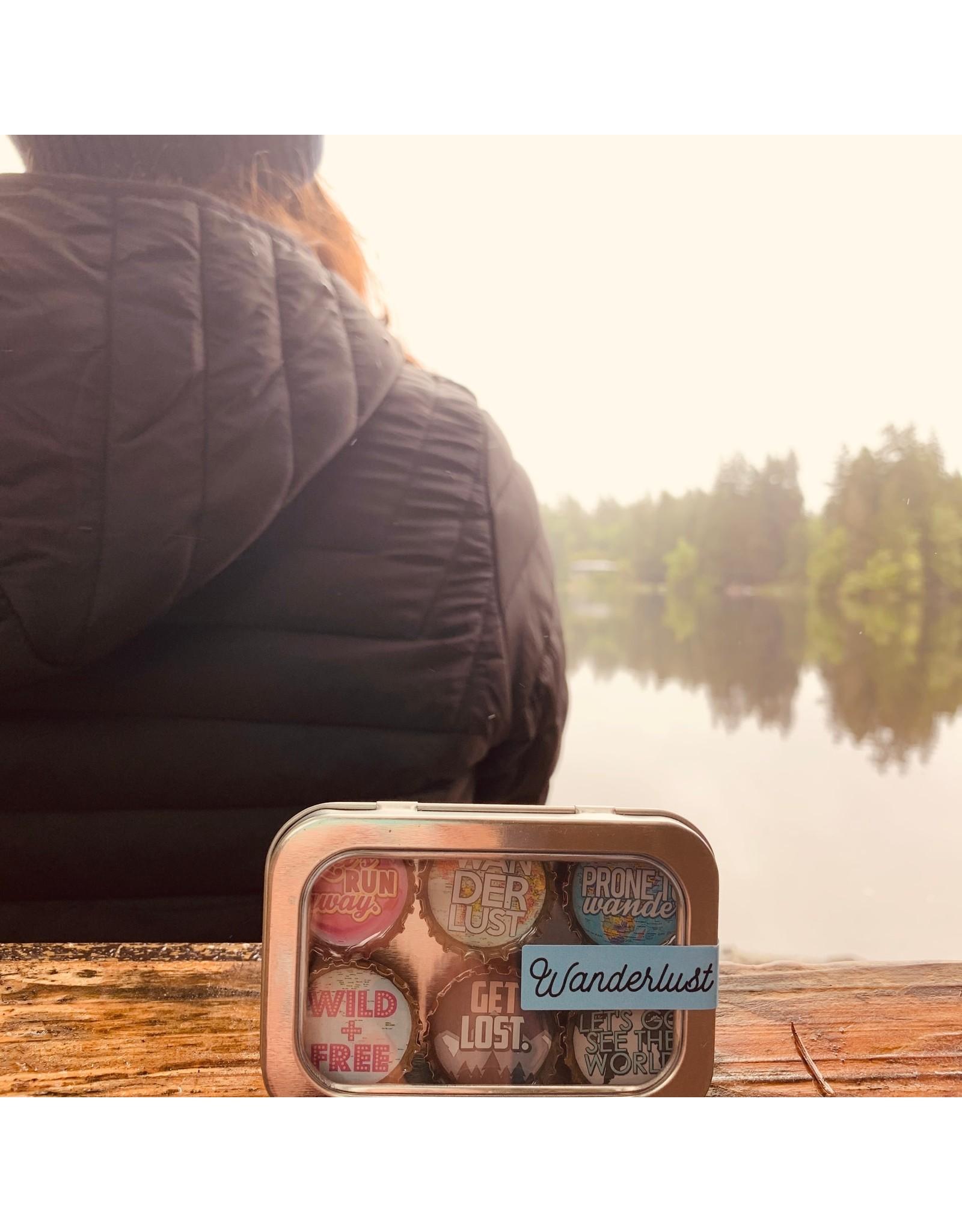 Wanderlust Magnet - Six Pack