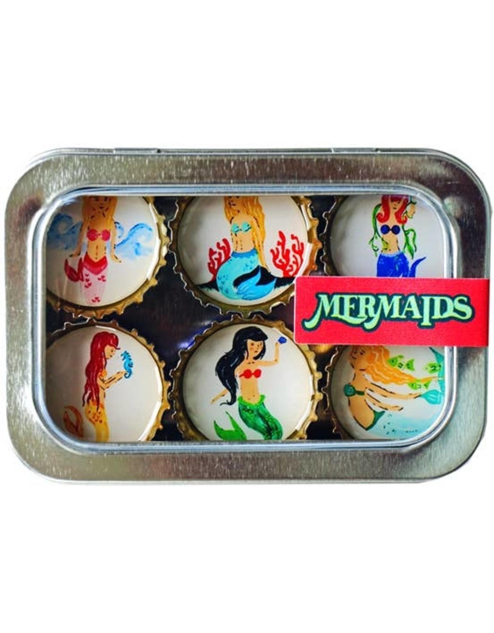 Mermaids Magnet - Six Pack