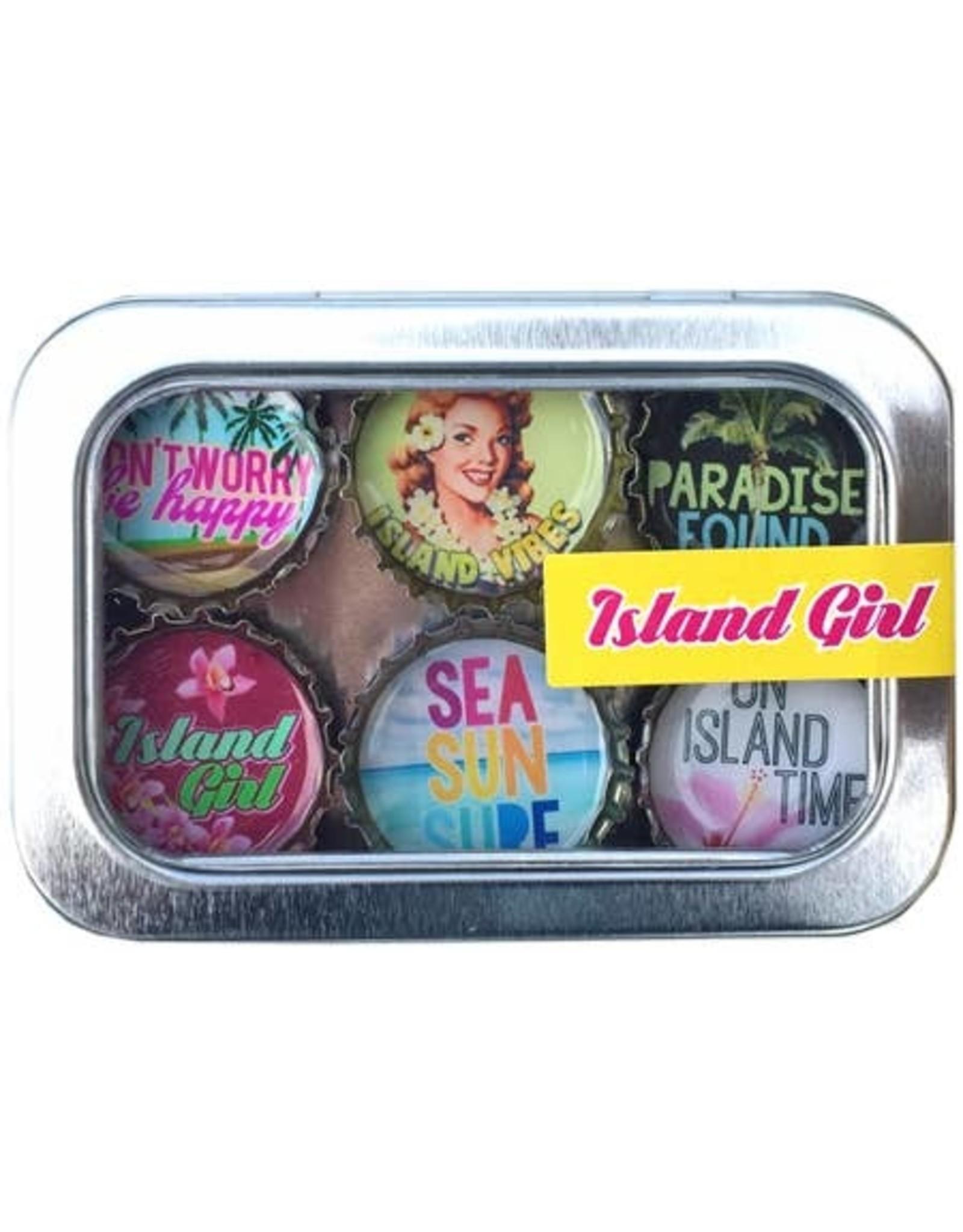 Island Girl Magnet - Six Pack