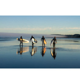 Pink Fin Photography Four Surfers Print