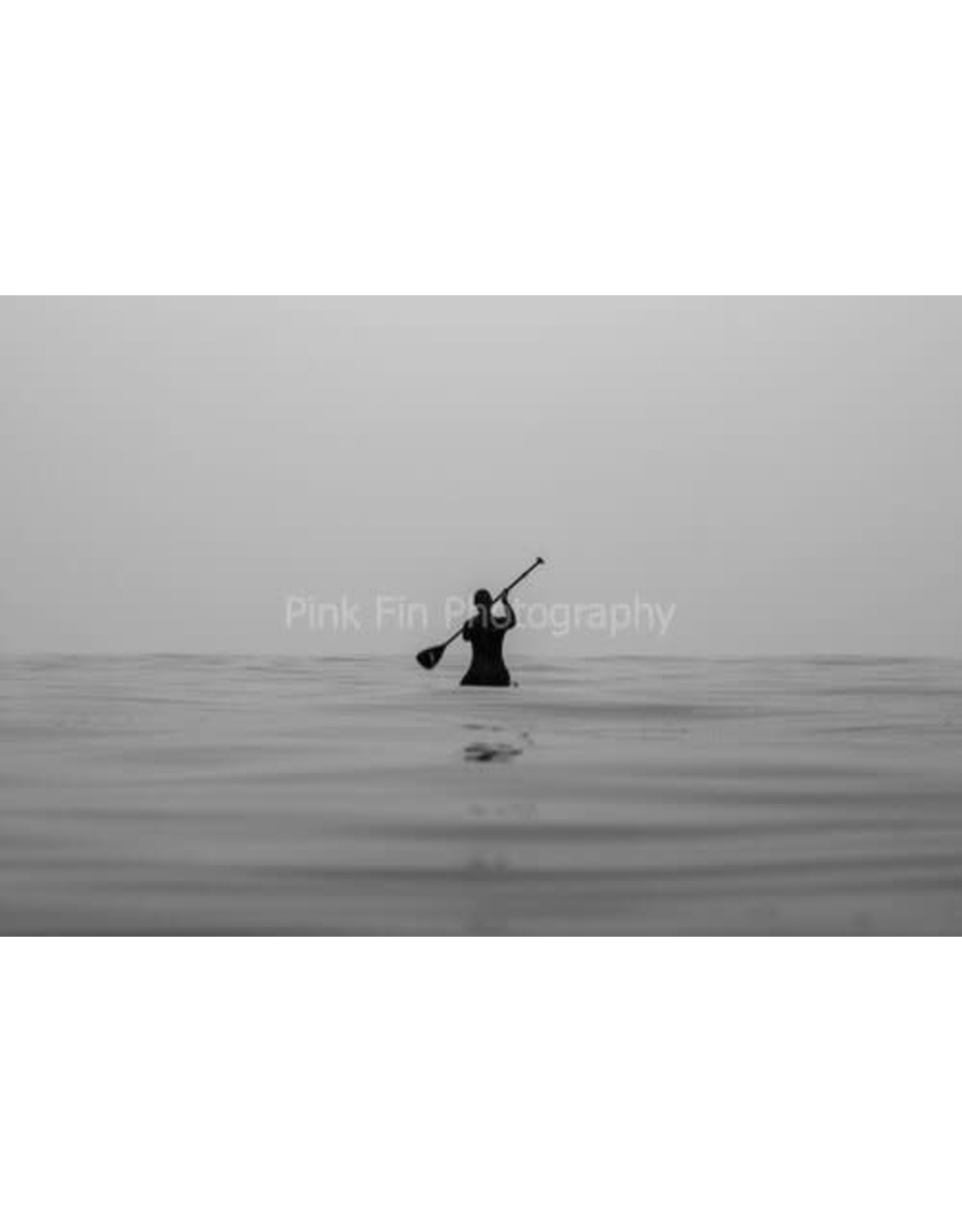 Pink Fin Photography Lone Paddle Print