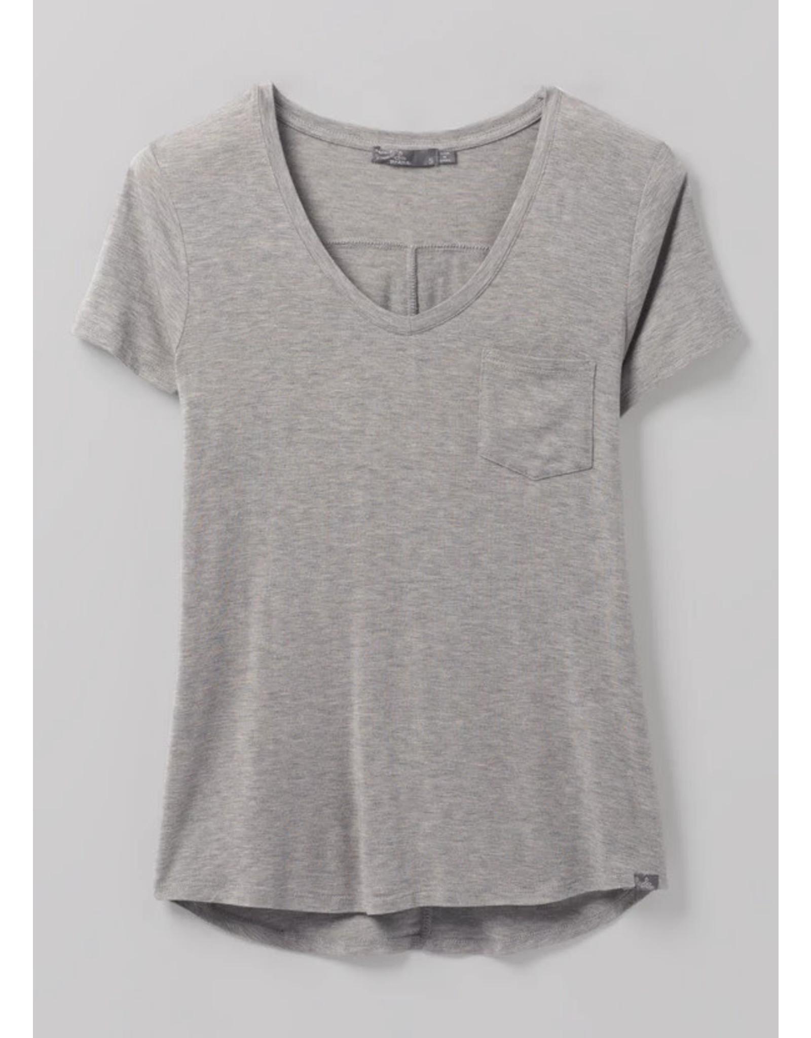 prAna Foundation Short Sleeve V-Neck Plus Size