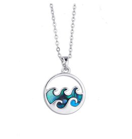 Bamboo Trading Company Cresting Wave Necklaces