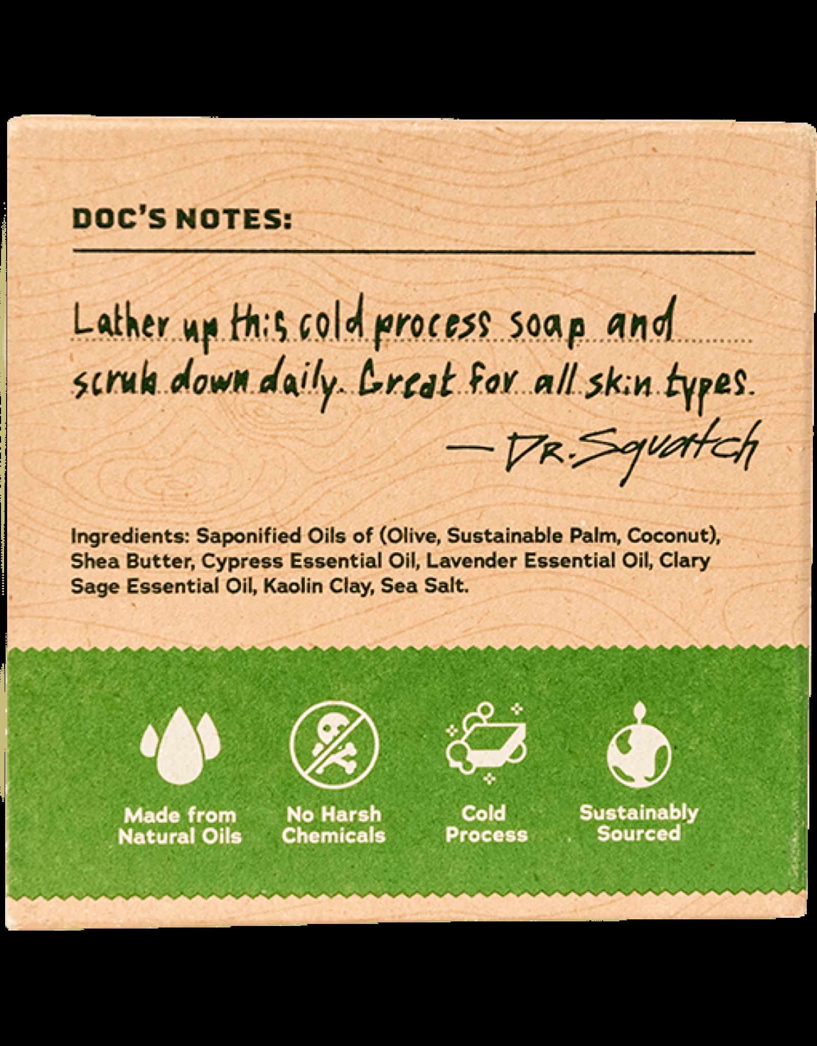 Dr. Squatch Alpine Sage Soap