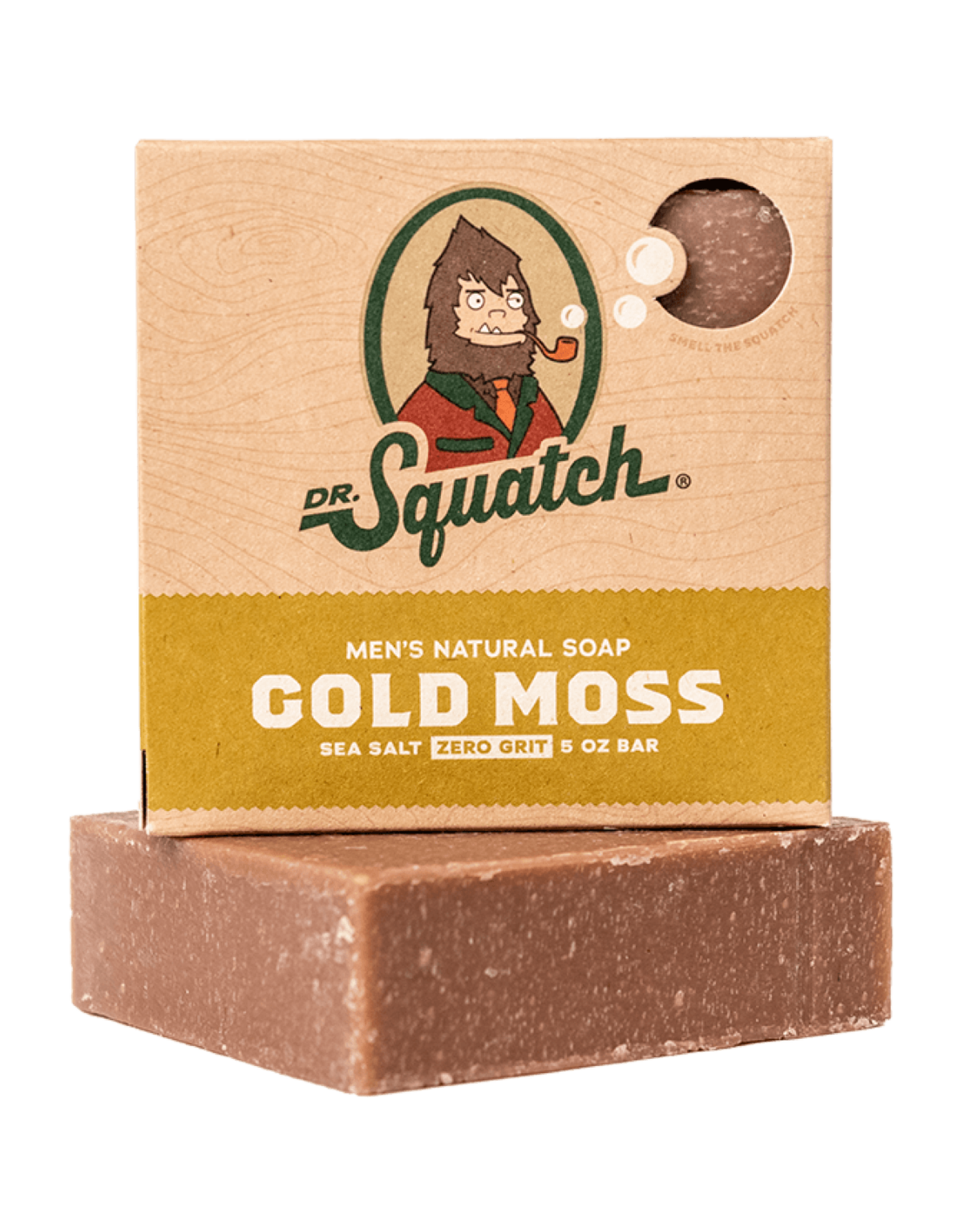 Dr. Squatch Gold Moss Scrub Soap