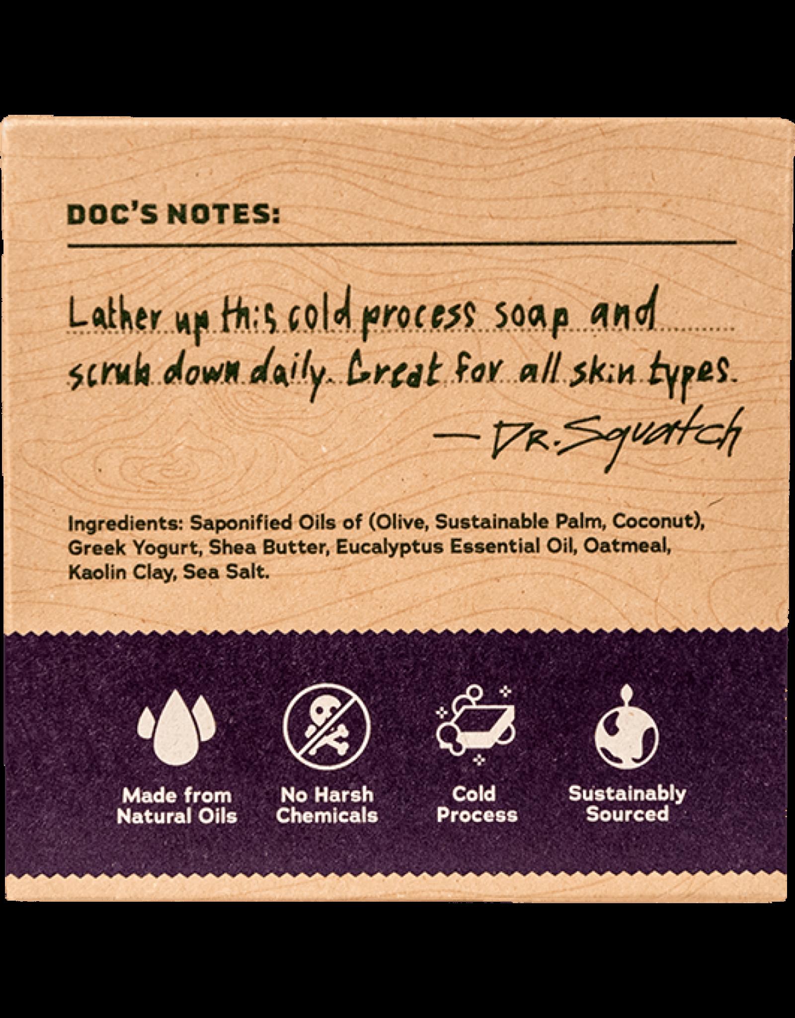 Dr. Squatch Eucalyptus Greek Yogurt Soap