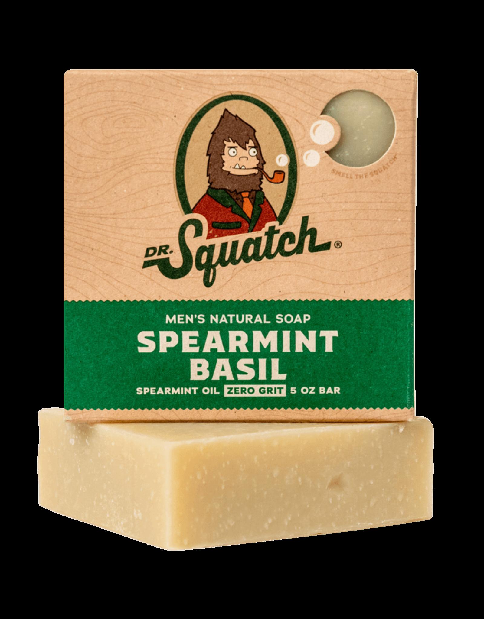 Dr. Squatch Spearmint Basil Scrub Soap