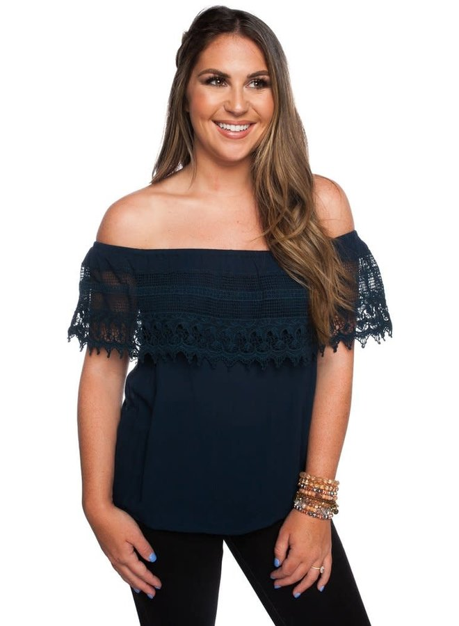 Trinity Off the Shoulder Top