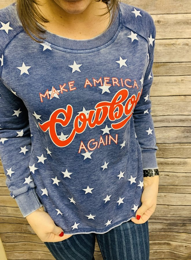 Make America Cowboy Again Pullover