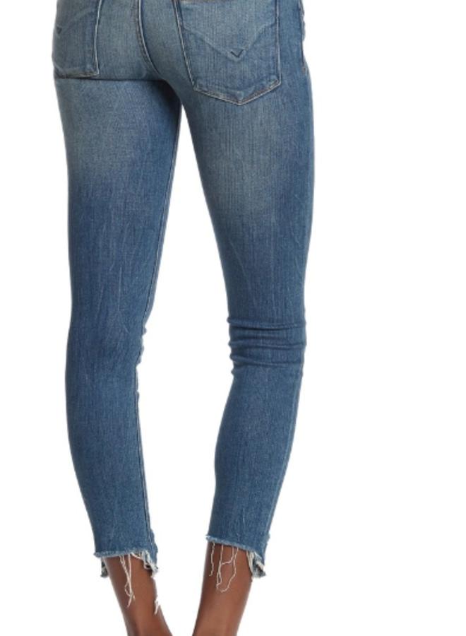 Hudson Midrise Super Skinny Crop Jean