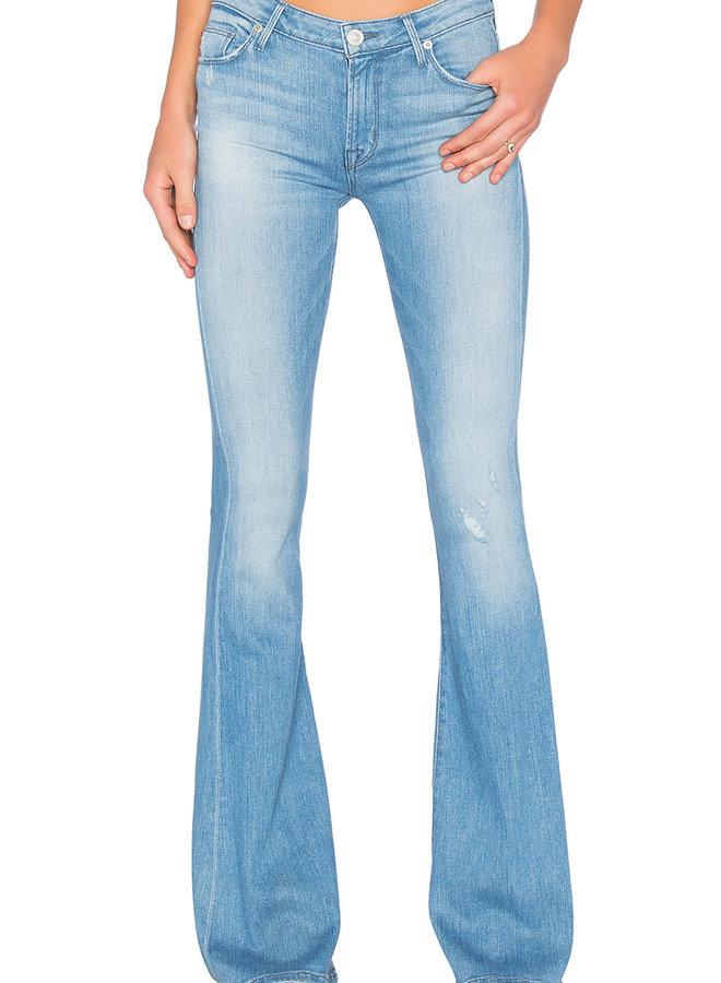 Hudson Mia Midrise Flare Jeans
