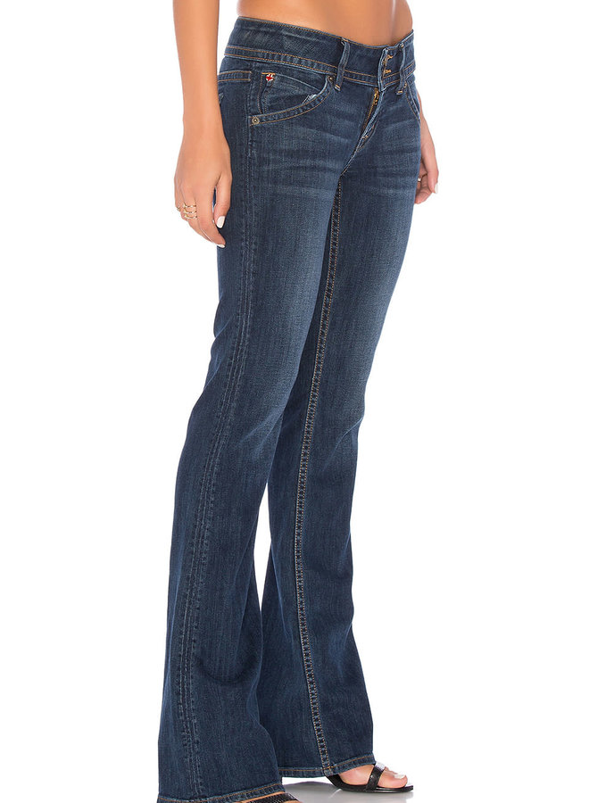 Hudson Signature Bootcut Full Coverage Flap Pocket Jeans