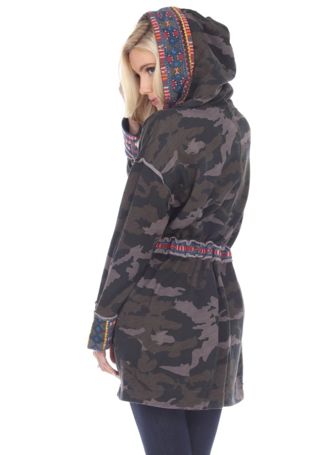 Johnny Was Tia Hooded Anorak Coat