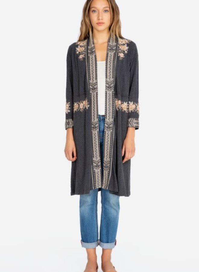 Johnny Was Marushka Knit Duster Coat
