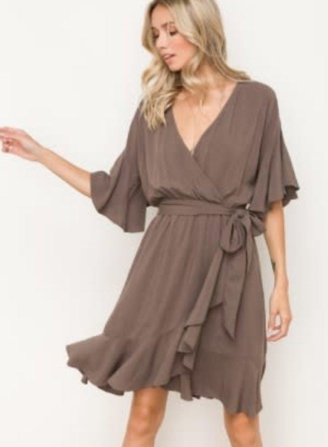 Wrap Swing Dress