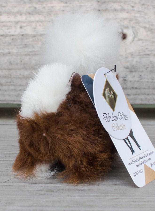 Heritage Farms Alpaca Fiber Squirrel Stuffed Animal