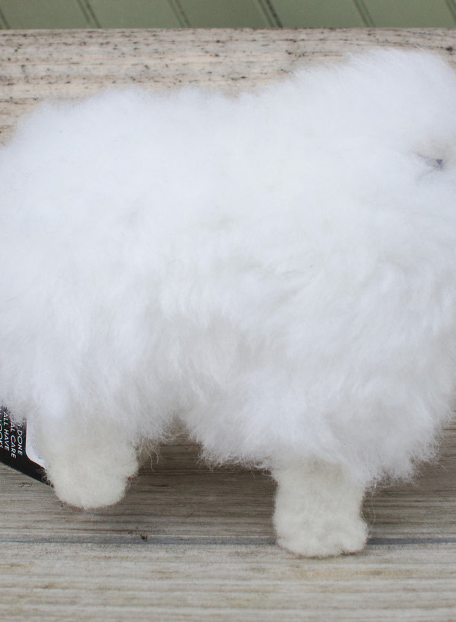 Heritage Farms Alpaca Fiber Sheep Stuffed Animal  Mini